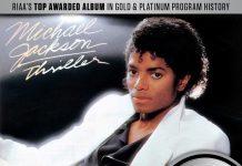 """Michael Jackson, """"Thriller"""" (certificare platină de 30 de ori)"""
