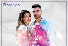"""Celia feat. Karym, """"La două capete"""" (artwork)"""