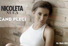 """Nicoleta Nucă, """"Când Pleci"""" (artwork)"""