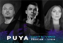 "PUYA feat. Vescan și Ligia, ""Du-te vino"" (artwork)"