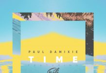 "Paul Damixie feat. Feli, ""Time"" (artwork)"