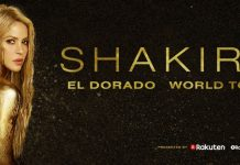Shakira Anunță EL DORADO WORLD TOUR