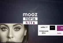 "Top16 Mooz Hits, ediția 17: Adele, ""Hello"""