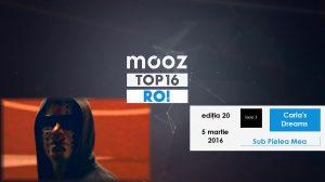 "Top16 Mooz Ro, ediția 20: Carla's Dreams, ""Sub Pielea Mea"""
