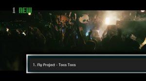 <strong>Fly Project</strong> intră direct pe locul 1, cu <em>Toca Toca</em>